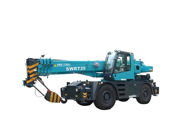 Rough Terrain Wheel Crane