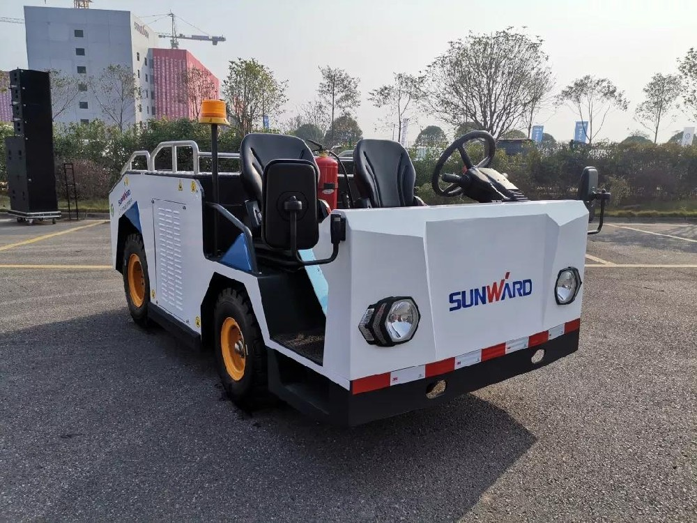 the SW-T25E electric luggage tractor independently developed by SUNWARD passed the national quality inspection