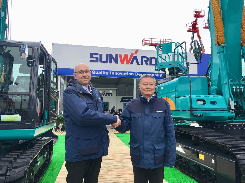 Newly-appointed CEO of Sunward Europe Announcement